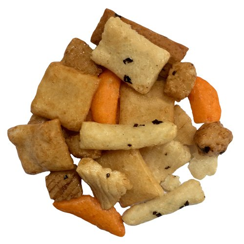 Oriental Rice Cracker Mix 240 oz by Olivenation