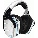 Logitech G933 Artemis Spectrum Snow 981-000620 Limited Edition Wireless 7.1 Virtual Surround Sound Gaming Headset for PS4, PC and XBOX(White)
