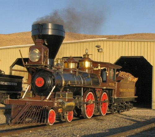 Living Steam Blu-Ray Railroad Video: Virginia and Truckee Then and Now At the Nevada State Railroad ()
