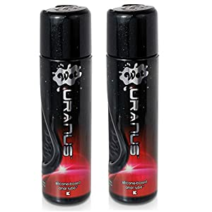 Wet Lubes Wet Uranus Anal Silicone Lube,3.1 Ounce - 2 Pack