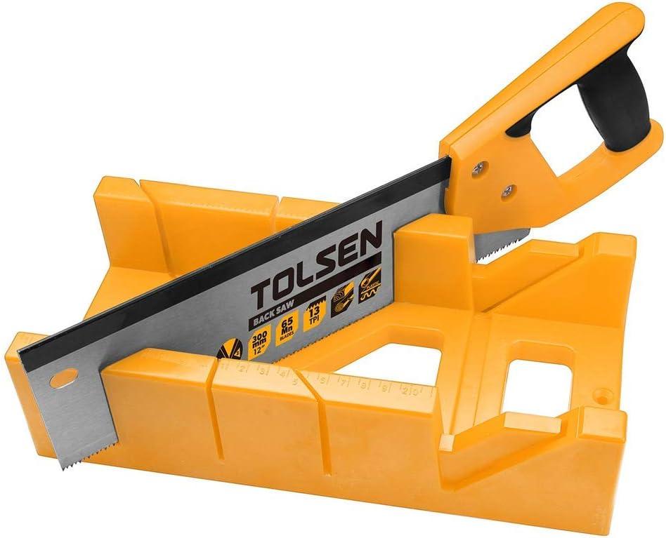 Cablematic - Serrucho de 300mm con caja de inglete de herramientas ...