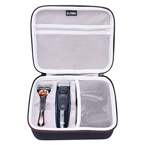 LTGEM EVA Hard Case for Braun BT3040 Mens Ultimate Hair Clipper/Beard Trimmer - Travel Protective Carrying Storage Bag