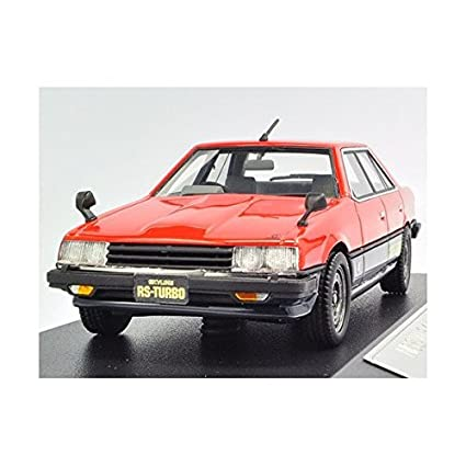 Hi Story 1/43 NISSAN SKYLINE SEDAN 1983 2000 TURBO RS RED (japan import
