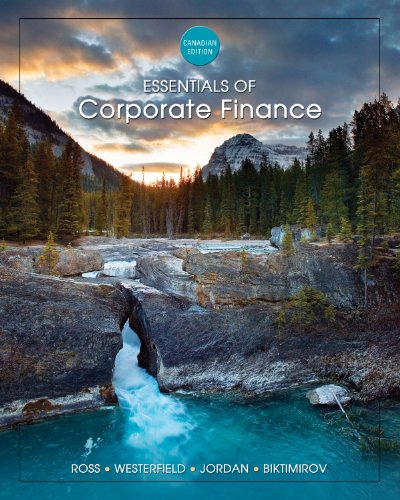 Essentials of Corporate Finance (7th, 11) by Ross, Stephen A - Westerfield, Randolph W - Jordan, Bradford [Hardcover (20