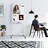 Magnetic Mobile White Board, 40 x 24 Double Sided