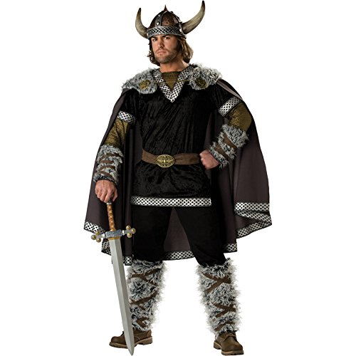 InCharacter Costumes Men's Viking Warrior Costume, X-Large (Genghis Khan Costume)