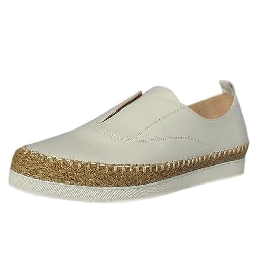 Peter Kaiser Anamarie Alpargatas De Plataforma De Moda En Cuero Blanco 6 WHITE: Amazon.es: Zapatos y complementos