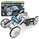 Mochoog STEM 4WD Electric Mechanical Assembly Gift Toys Kit | Intro to Engineering, DIY Climbing Vehicle, Circuit Building Projects for Kids and Teens | DIY Science Experiments Using Real Motor