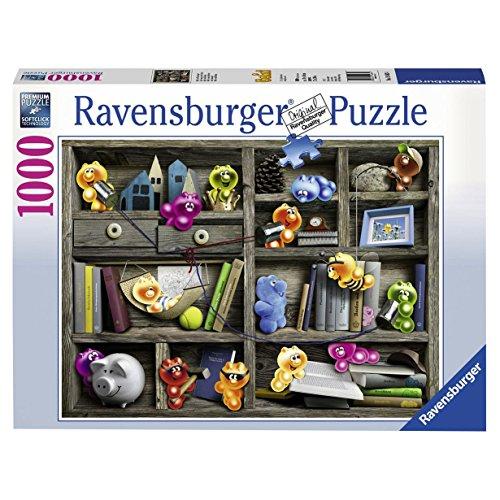 30OFF Ravensburger Gelini Bookshelf Jigsaw Puzzle 1000 Piece