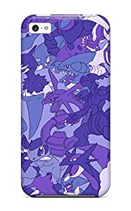 Ultra Slim Fit Hard Mary Elizabeth Mihas Case Cover Specially Made For Iphone 5c- Pokemon