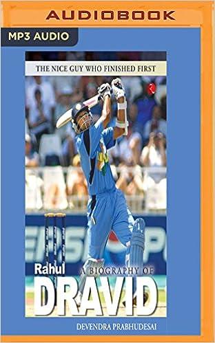 Rahul dravid biography book free