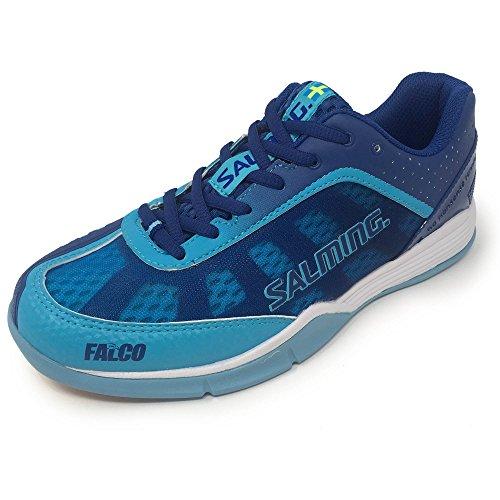 Salming Halle Zapatos Falco Women azul y blanco