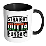 Straight Outta Hungary %2D Hungarian Fla