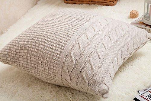 Decorative Cushion Cover Super Soft Square Warm Pillow Covers