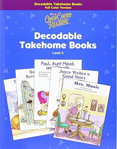 Open Court Reading - Decodable Takehome Books - 1 Color Workbook of 35 Stories - Grade 3