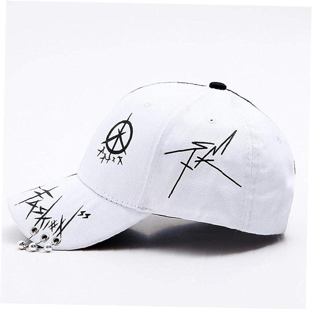 Aisoway Unisex Baseball Registrabile della Protezione Hip-Hop con Il Cappello a Tre Anelli Caps Traspirante Via Dad