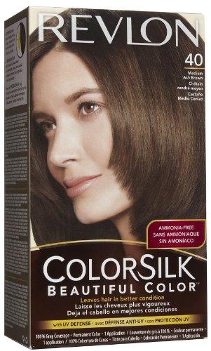 Revlon Colorsilk Haircolor, Medium Ash Brown #40 - 1 Coun...