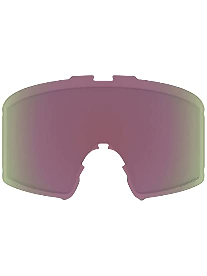 2e55af0dd381 Oakley Line Miner Mens Replacement Lens Snow Goggles Accessories - Inferno Prizm  HI Pink One