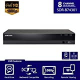 Samsung SDH-B74081 8 Channel HD Security DVR SDR-B74301 Only with Accessories (Supports up to 1080p Analog Cameras)