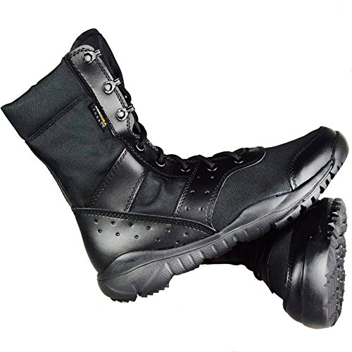 GRAMOT Men's BMM Jungle Boots&Desert Tactical Outdoor Combat Boots(Tan/Black) …