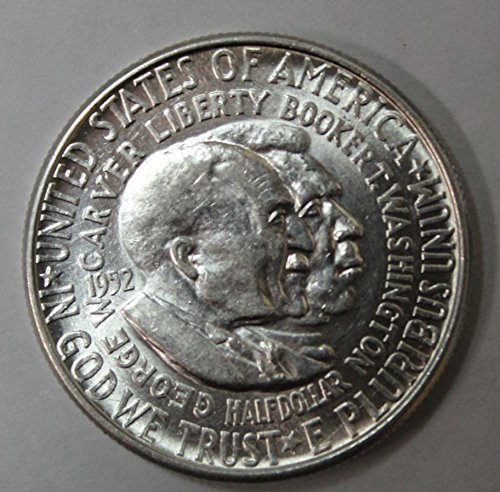 1951-1954 50c About Uncirculated/Brilliant Uncirculated Washington-Carver Commemorative Half Dollar(Random Dates and Mint Marks) ()