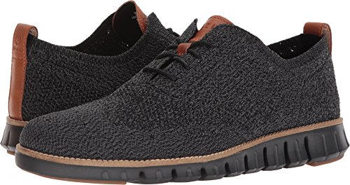 Cole Haan Lace Oxfords - Cole Haan Mens Zerogrand Stitchlite Oxford Black/Magnet/Black 15 D - Medium
