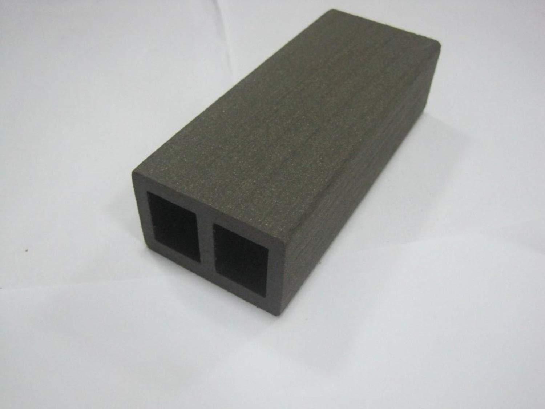 HORI/® WPC-Terrassendielen massiv dunkelgrau-anthrazit I Komplett-Set inkl 40x60 mm Unterkonstruktion /& Clips I Dielenl/änge 5,00 m I Fl/äche 24 m/²