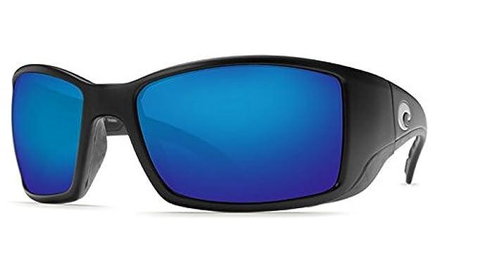 ec0b56ca7679 Costa Blackfin Sunglasses Matte Black   Blue Mirror Glass 580G   Neoprene  Classic Bundle