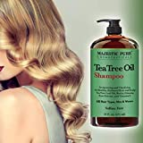 Tea Tree Oil Hair Shampoo, Sulfate Free with Pure...