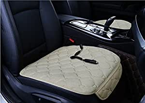 Dshall 12/24V Heated Car Seat Cushion Premium Heating Warmer Pad Hot Cover Perfect for Cold Weather and Winter Driving 3 pack