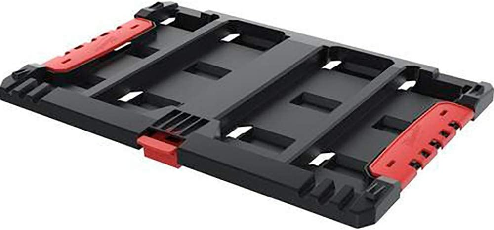 Milwaukee PackOUT-Placa adaptadora para Caja HD, Red-Black, 49x34x5: Amazon.es: Hogar