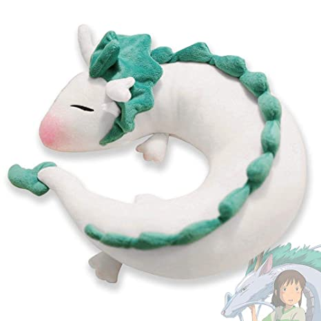 Amazon.com: LAMONDE - Cojín para cuello de dragón blanco de ...