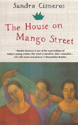 book cover for the house on mango street by sandra cisneros