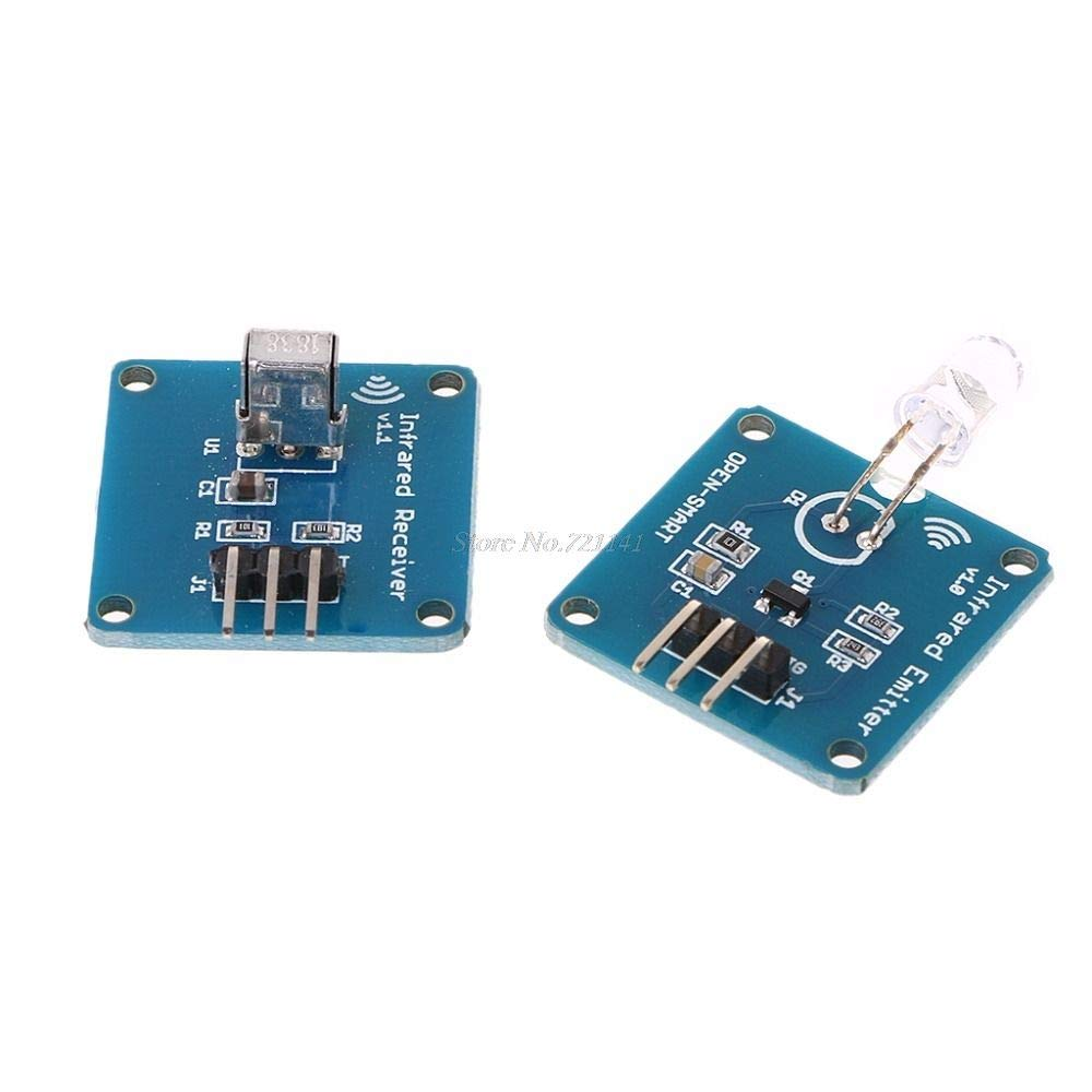 NE555 Infrared Transmitter+IR Receiver With Carrier 38KHz IR Transceiver Module