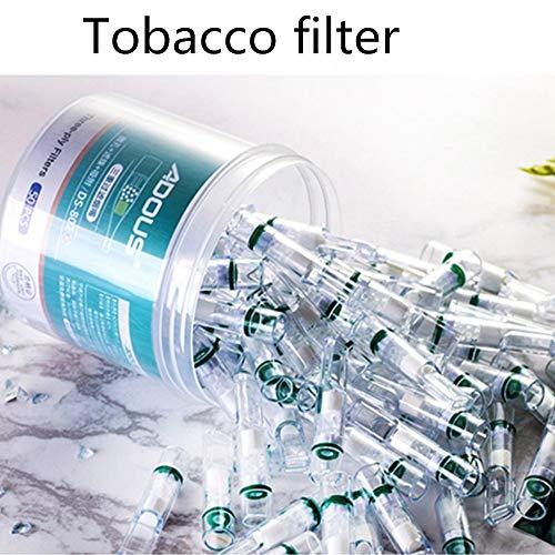 50PCS Disposable Cigarette Mouthpiece Safe Food Grade Cigarette Filter Jet Holder Smoking Healthy Tools Men Tobacco Filter