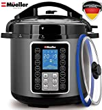 Mueller UltraPot 6Q Pressure Cooker Instant Crock 10 in 1 Hot Pot
