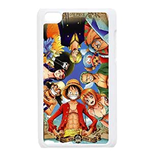 Ipod Touch 4 Phone Case for One piece pattern design