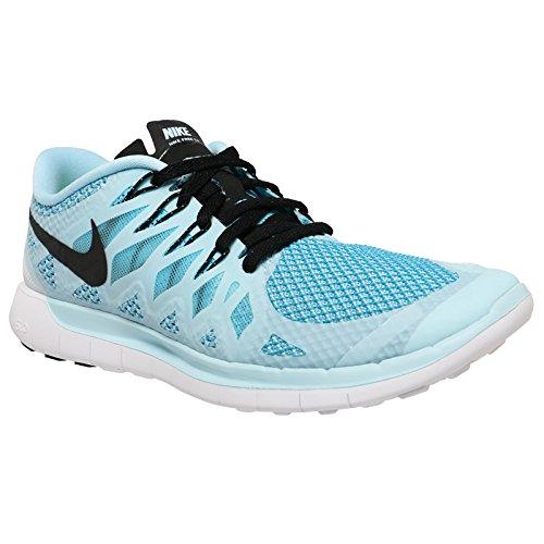 7ad3593f5c4c Nike Free 5.0 Women s Training Shoes - Blue Black