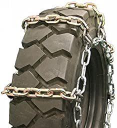 Quality Chain Square Alloy 8mm Forklift Link Tire Chains (4-Link Spacing) (1407-4SL)