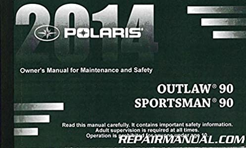 9924620 2014 polaris sportsman 90 outlaw 90 owners manual rh amazon com 2006 polaris outlaw 90 owners manual polaris outlaw 90 service manual