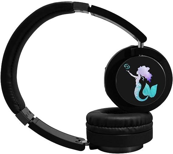 6 dian Zodiac Cancer sirena Cool Bluetooth Auriculares sobre ...
