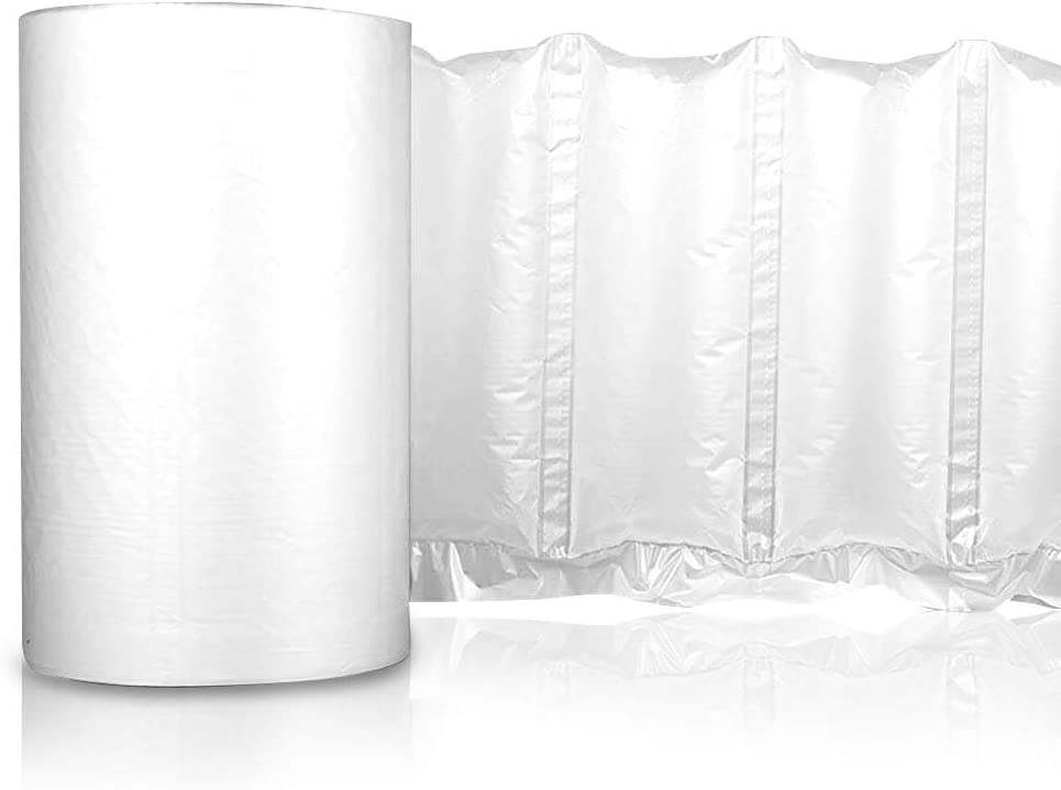 """6,840 Pillows Polyair Packaging Roll  8/"""" x 5/"""" Air Pillow Film-2,850/' Details about  /AirSpace"""