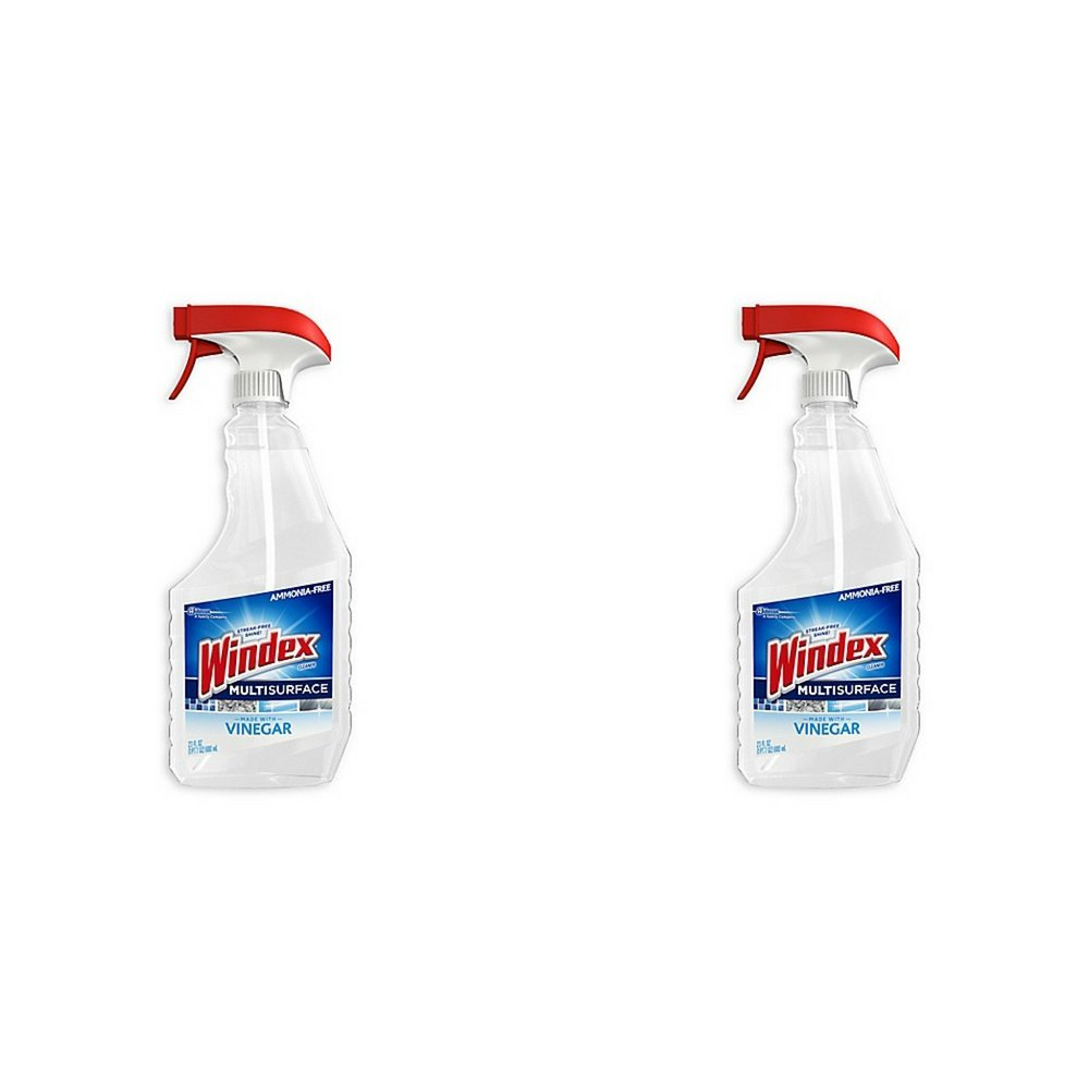 Windex 23 oz. Multi Surface Vinegar Cleaner, Pack of 2