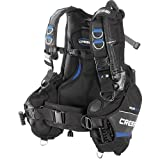 Cressi Aquaride Pro BCD, Fully Accessorized Scuba Diving Buoyancy Compensator, Small