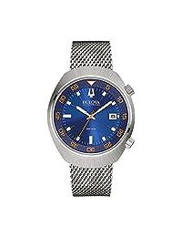Bulova Men's Accutron II 96B232 Silver Stainless-Steel Quartz Watch