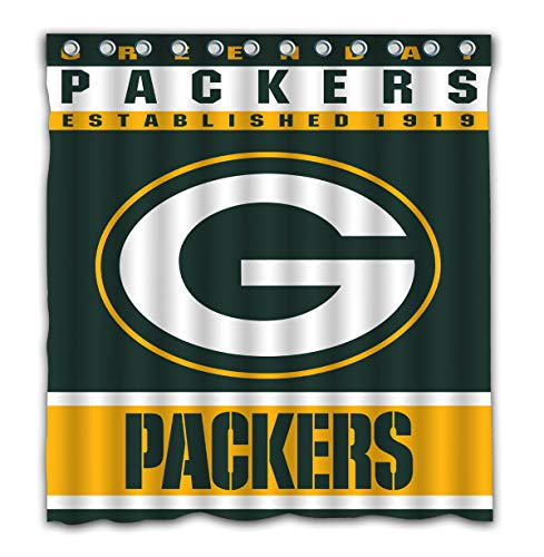 Green Bay Packers Shower Curtain Packers Shower Curtain