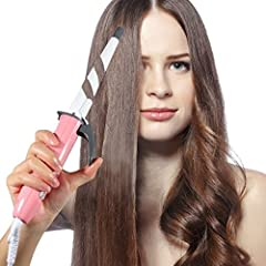Elechomes--ElechomesEB201 Ceramic Curling Wand  The multifunctional tool has a cone shaped design offering a variety of dimensions to meet your style needs. Ceramic: the Styling Wand Essential If you want to achieve salon-quality hair from your own h...