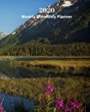 2020 Weekly and Monthly Planner: Alaska in the Spring - Monthly Calendar with U.S./UK/ Canadian/Christian/Jewish/Muslim Holidays- Calendar in Review/Notes 8 x 10 in.-Alaska  Travel Vacation