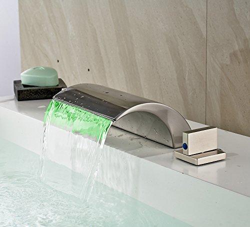Bath Faucet With Led Light - 6