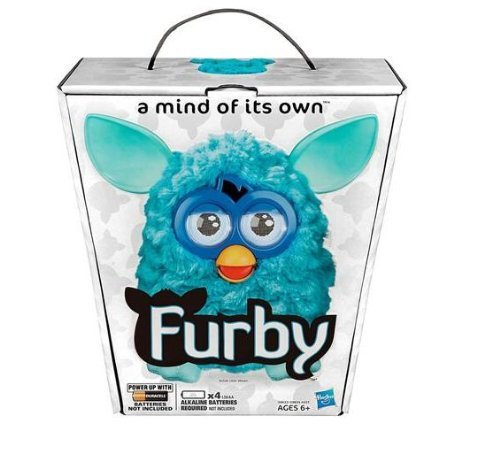 Hasbro FURBY 2012 TEAL A Mind of its Own NEW
